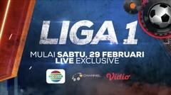 Liga 1 2020 Mulai 29 Februari Live Exclusive Hanya di Indosiar