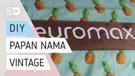 DIY 012 - Papan Nama Vintage