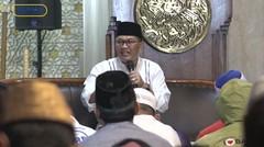 Oded M. Danial melaksanakan Subuh Berjamaah di Masjid Agung Al-Ukhuwah