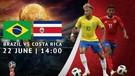HIGHLIGHTS Brazil v Costa Rica