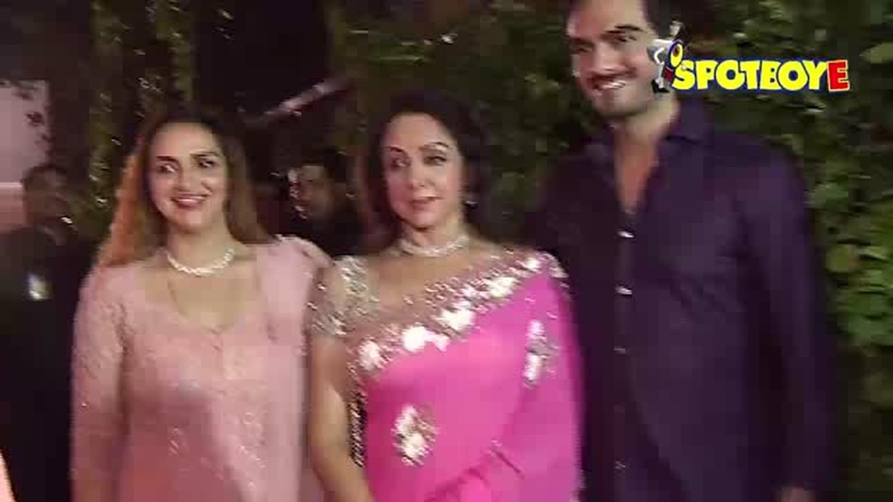 Streaming Bollywood Hema Malini S 68th Birthday Celebration Vidio Com