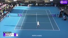Match Highlights | Iga Swiatek 2 vs 0 Belinda Bencic | WTA Adelaide International 2021