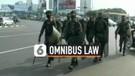 Cegah Pergerakan Massa ke Jakarta, Petugas Sekat Beberapa Titik di Bekasi