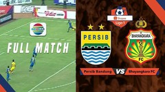 Full Match: Persib Bandung vs Bhayangkara FC | Shopee Liga 1