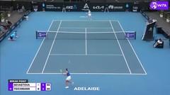 Match Highlights | Anastasija Sevastova 2 vs 1 Jil Teichmann | WTA Adelaide International 2021