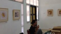 pameran grafis batik colet