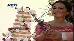 Acara Potong Kue Pengantin Raffi Ahmad Dan Nagita Slavina Di Bali