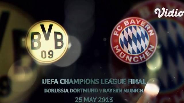 Streaming Borussia Dortmund Vs Bayern Munich Ucl 2013 Final Official Film Vidio