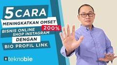 5 Cara Meningkatkan Omset (200%) Bisnis Online Shop _ Instagram Bio Profile Link Omnilinkz