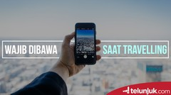 Gadget WAJIB Dibawa Saat Traveling  Telunjuk Top Picks