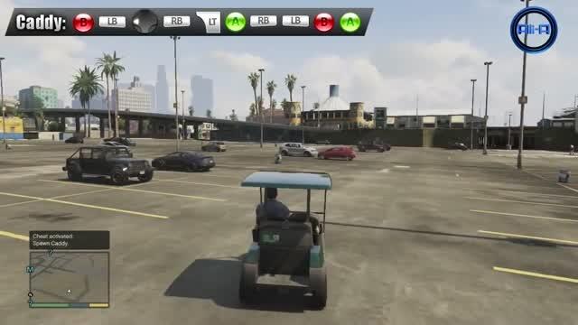 GTA 5 Cheats Gameplay - Cars, Slow mo, Parachute & More (Grand Theft Auto V  Cheat Codes)