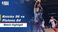 Match Highlight | New York Knicks 96 vs 84 Detroit Pistons | NBA Regular Season 2019/20