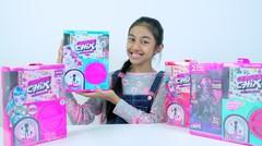Unboxing Mainan Anak CAPSULE CHIX Seri 1 & Seri 2