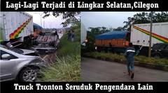 Detik Detik Proses Efakuasi Pasca Terjadinya Kecelakaan Di Lingkar Selatan