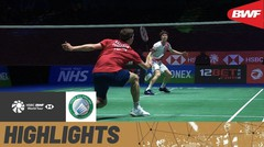 Match Highlight | Viktor Axelsen (Denmark) 2 vs 1  Anders Antonsen (Denmark) | Yonex All England Open Badminton Championship 2021
