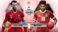 Piala Dunia 2018 GOL PORTUGAL 1-0 MOROKO