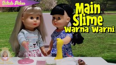 Main Slime Warna Warni | Boneka Belinda | Belinda Palace