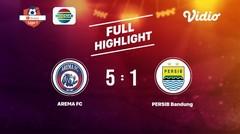 Arema FC vs PERSIB Bandung Full Highlight | Shopee Liga 1