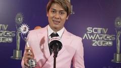Rizky Billar Memenangkan Kategori Artis Paling Sosmed - Exclusive Keseruan NonStop SCTV Awards 2020