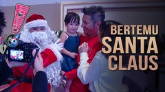 Bertemu Santa Claus, Begini Ekspresi Gemas Gempita