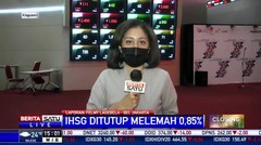 IHSG (15/1) Ditutup Melemah