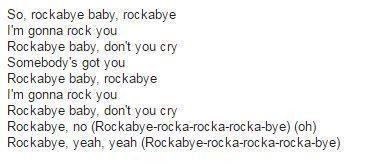 [LYRIC] Rockabye by Clean Bandit feat  Sean Paul & Anne-Marie