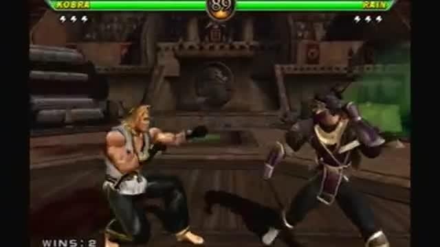 Mortal Kombat Armageddon ps2 Short gameplay