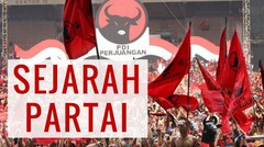 SEJARAH PARTAI PDIP
