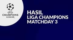 Hasil Matchday 3 Liga Champions, Manchester United Menang Dramatis, Chelsea Pesta Gol