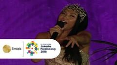 Bersatulah Pemuda Disampaikan Anggun dalam Opening Ceremony Asian Games 2018