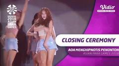 Ace of Angels (AOA) Menghipnotis Penonton di Closing Ceremony Asian Para Games 2018