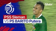Mini Match- PSS Sleman 3 vs 2 PS BARITO Putera   BRI Liga 1 2021/2022