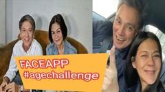 Viral #AgeChallenge Wajah Tua, Dilan dan Milea Ikut-ikutan Lho