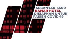 Pemerintah Siapkan Ribuan Kamar Hotel untuk Pasien Covid-19