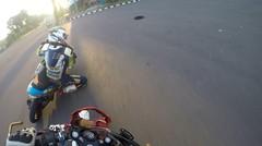 GoPro latihan seru road race satria fu vs mio DDRT - HD