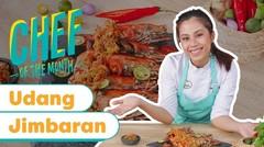 Masakan Khas Bali Udang Jimbaran bareng Chef Saskyra Rosano