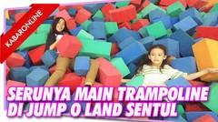 Serunya Main Trampoline di Jump O Land Sentul Bogor