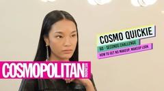 Cosmo Quickie 60 - Seconds Challenge How To Get No Makeup, Makeup Look