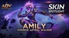 Cosmos Astral Walker Amily Skin Spotlight - Garena AOV (Arena of Valor)