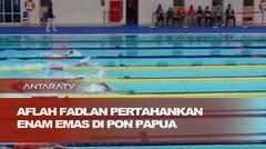 Aflah Fadlan pertahankan enam emas di PON Papua