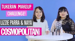 Tukeran Makeup Challenge! Lizzie Para dan Naya Rollover Reaction - Cosmopolitan Indonesia