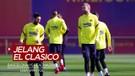 Mengintip Latihan Barcelona Vs Real Madrid Jelang El Clasico