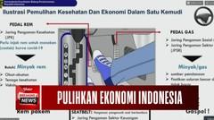 Menko Ungkap Jalan Keluar Pulihkan Ekonomi Indonesia Ditengah Pandemi Covid-19