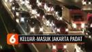 Libur Panjang, Lalu Lintas Kendaraan Keluar-Masuk Jakarta Padat | Liputan 6