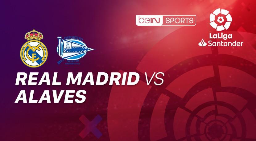 Real Madrid vs Alaves - La Liga cover