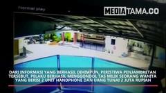 Detik detik Aksi Penjambretan Terekam CCTV