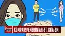Angka Sembuh Covid Membaik, dr. Reisa Broto Asmoro: Pemerintah 3T, Kita 3M..