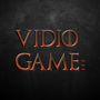vidio game