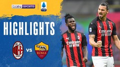 Match Highlight | AC Milan 3 vs 3 Roma | Serie A 2020