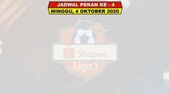 Jadwal Liga 1 Indonesia Pekan Ke 4 Terbaru - Jadwal Lengkap Shopee Liga 1 Indonesia